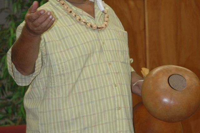 Families experience Hawaiian culture and dance at hula workshop
