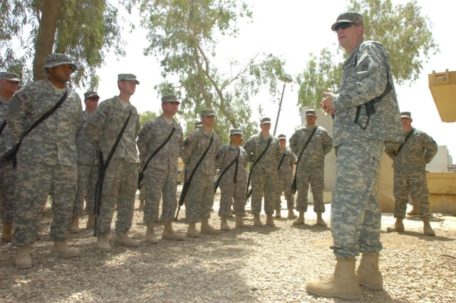 Brig. Gen. Lally tours CRSP and bids farewell to 259th CSSB Soldiers