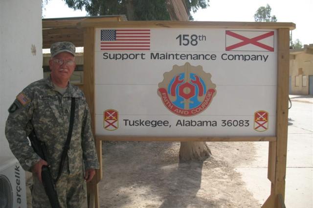 Alabama Soldier serves in third war