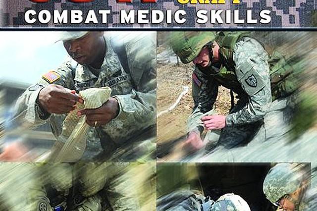 68W Advanced Field Craft Combat Medic Skills book cover.