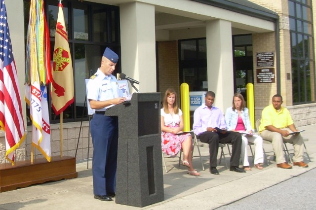Nine military children receive $13,500 in college scholarships
