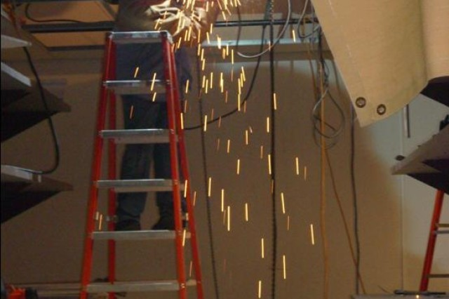 Sparks fly at Huachuca tech center