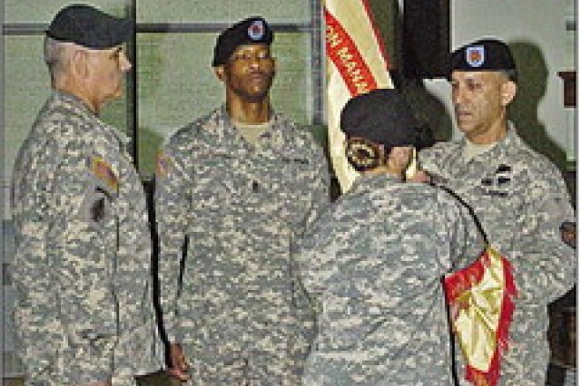 Garrison gets new top noncommissioned officer