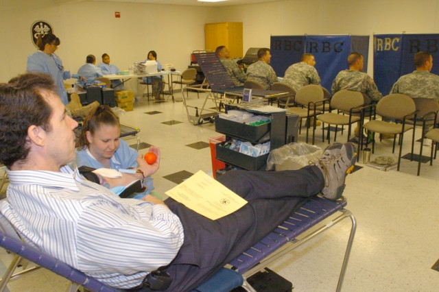 Fort Hood's WTB Holds First Ever Blood Drive