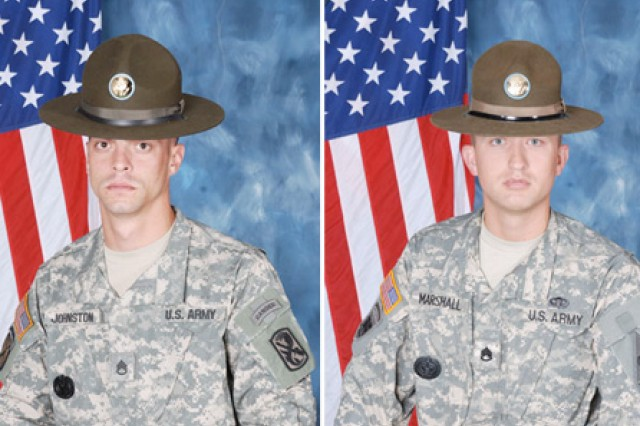 Staff Sgt. Michael F. Johnston, 192nd Infantry Brigade at Fort Benning, Ga. took home top honors for the active-duty force and Staff Sgt. Joshua J. Marshall, 2/398th Training Battalion, Bowling Green, Ky. captured the Reserve title.