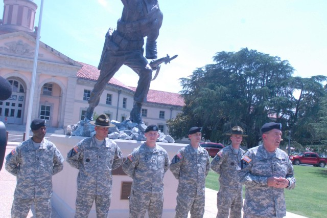 Sergeant Audie Murphy Club inducts new members