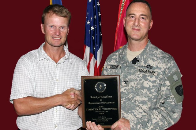Department of the Army Ammunition Manager of the Year Award for Excellence