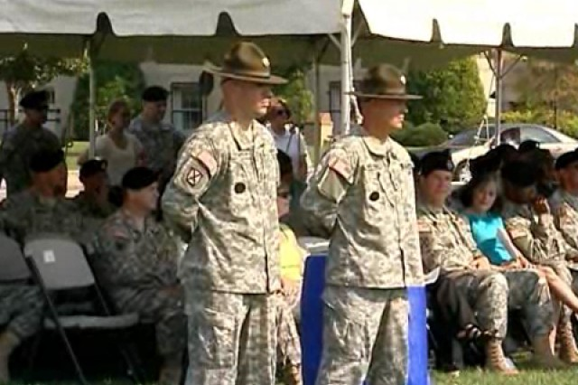 2009 Drill Sergeant of the Year ceremony