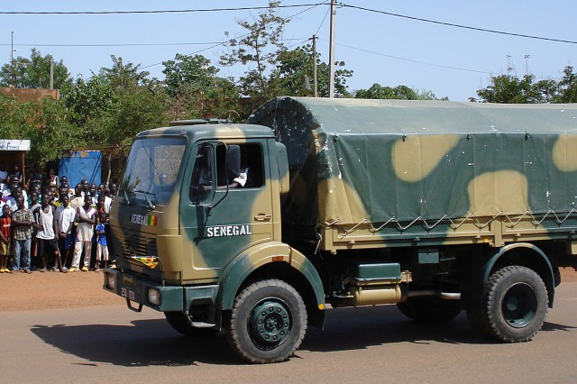 West African military logistics put to the test
