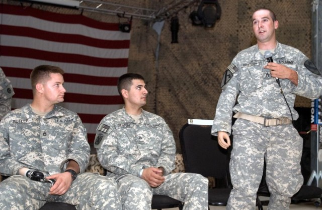 Wounded warriors return to Iraq