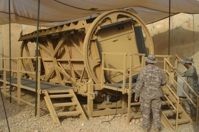 287th Sustainment Brigade Begins MRAP Rollover Training