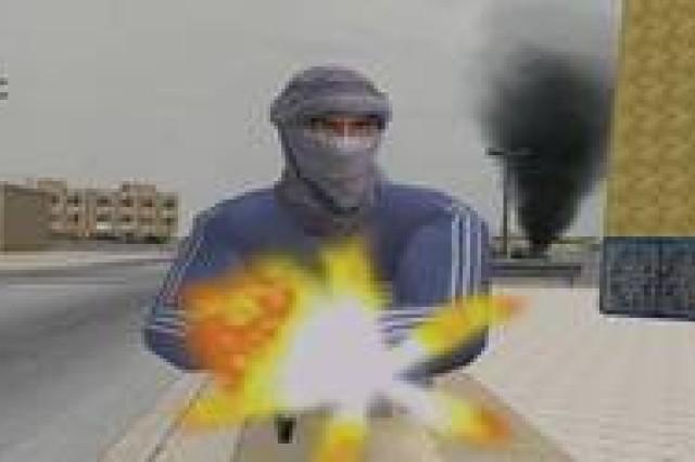 Insurgent in Virtual Iraq
