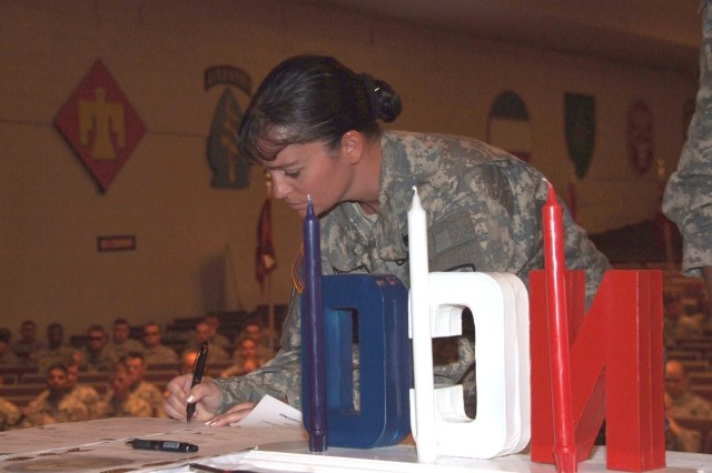 Fort Carson WTB holds first NCO induction ceremony