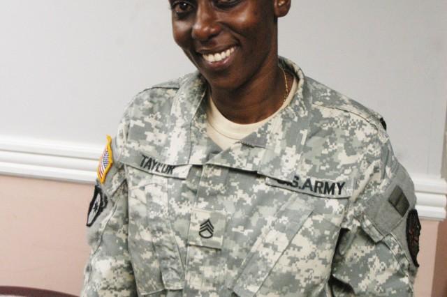 Staff Sgt. Juliet Taylor