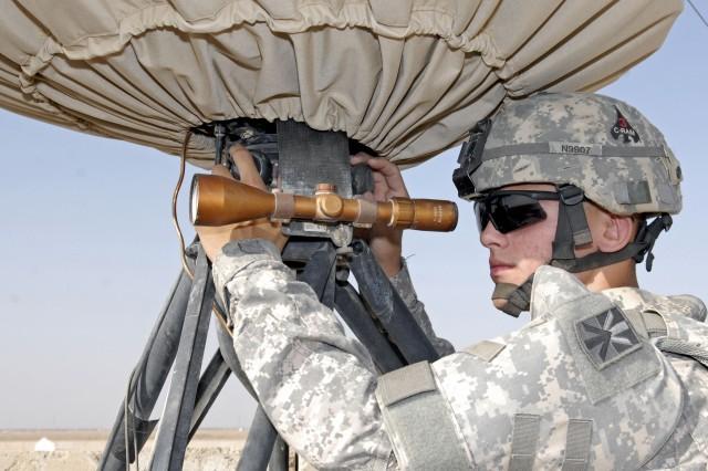 Protecting the skies over Basra