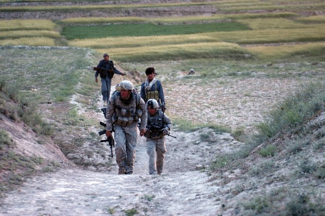 Joint missions in Afghanistan