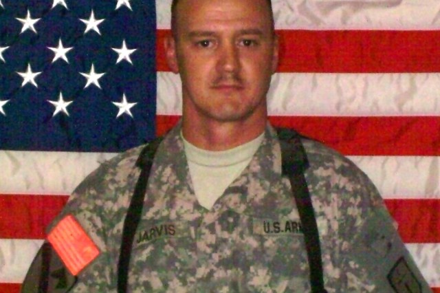 BAGHDAD - 34 year-old Chief Warrant Officer 2 Rodney Jarvis, a native of Akron, Ohio, died suddenly July 13 from a medical condition on Camp Liberty, Iraq.  Jarvis, a 15-year Army veteran, owned and operated a family convenient store with his wife Fashion, in Maryville, La., and was deployed to Iraq with the 46th Engineer Combat Battalion (Heavy), based in Fort Polk, La.  He served as the property book officer for the battalion.