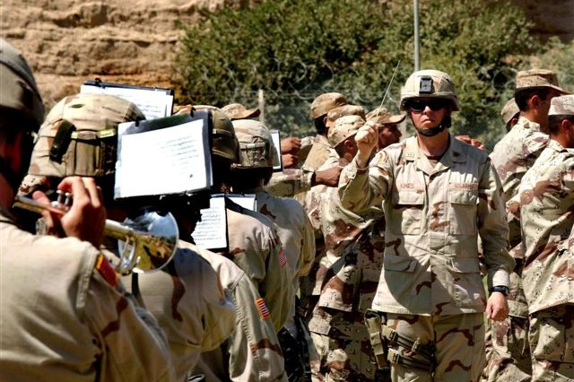 42nd Division Band in Iraq
