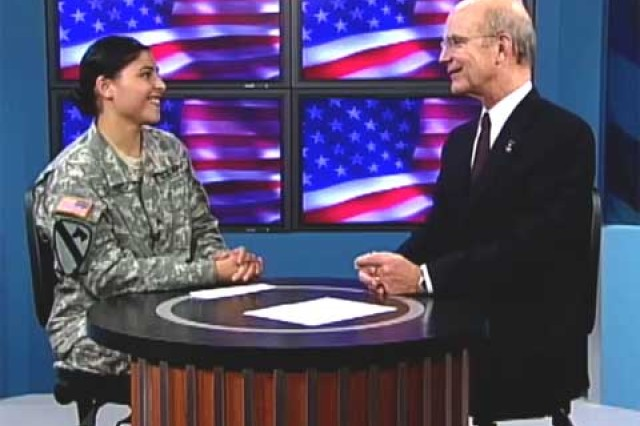 Interview with Secretary of the Army