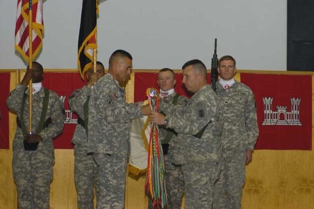 130th Engineer Brigade Assumes Responsibility