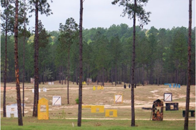 1-353rd Infantry conducts first M203 range