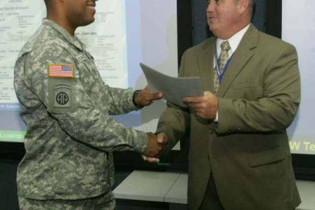 Eight Warrant Officers graduate from the first electronic warfare