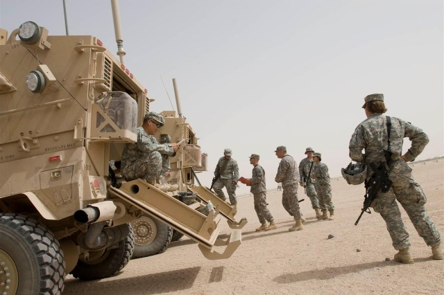 Portland Soldiers participate in new MRAP training, prepare for Iraq roads