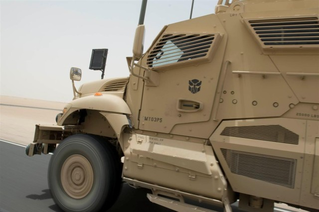 Portland Soldiers participate in new MRAP training, prepare for Iraq roads