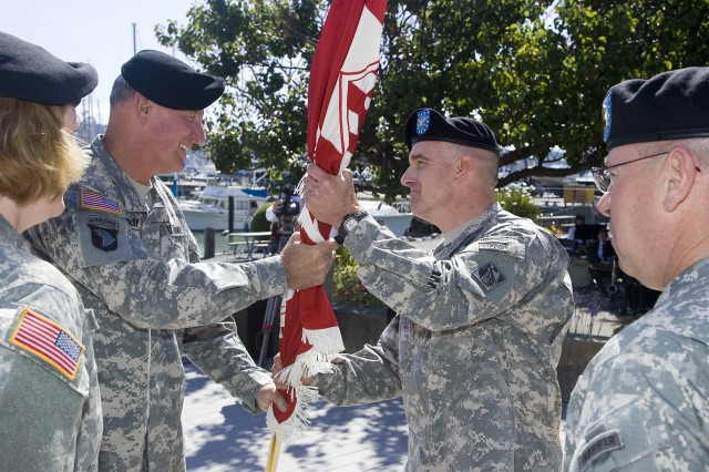 Donahue takes command of South Pacific Division