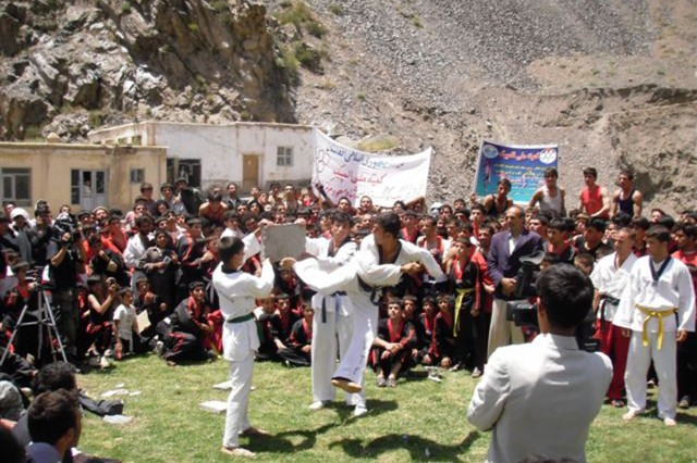 Panjshir hosts martial arts sports festival in the valley