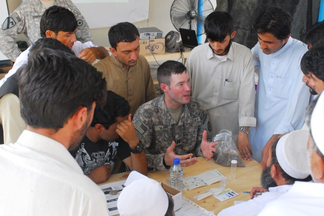 U.S. Forces Foster Growth in Afghanistan