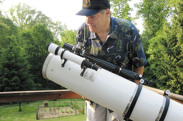 Tom DeMott has been an avid astronomer for many years, having developed an interest in the subject when his father observed the night sky with him.