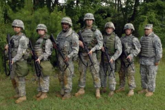 Three NCOs and three Soldiers battled to become the 2009 TRADOC Soldier and NCO of the Year. The competition started with the Army Physical Fitness Test and concluded with a board of senior NCOs.