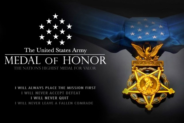 For more on the Medal of Honor, visit www.Army.mil/MOH