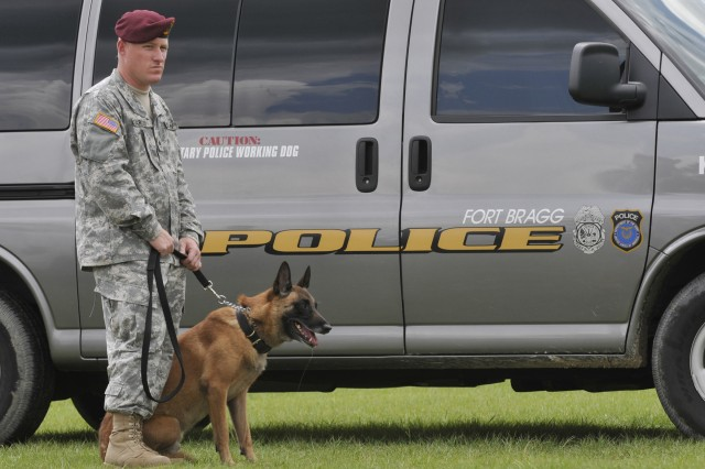 K9 team at work
