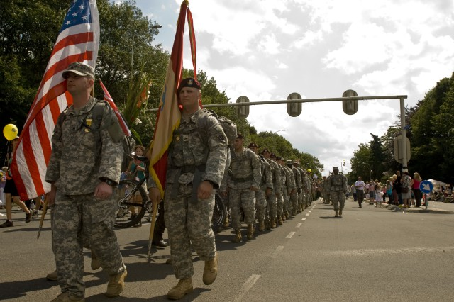 21st TSC Soldiers participate in 4-day, 100-mile march in Nijmegen