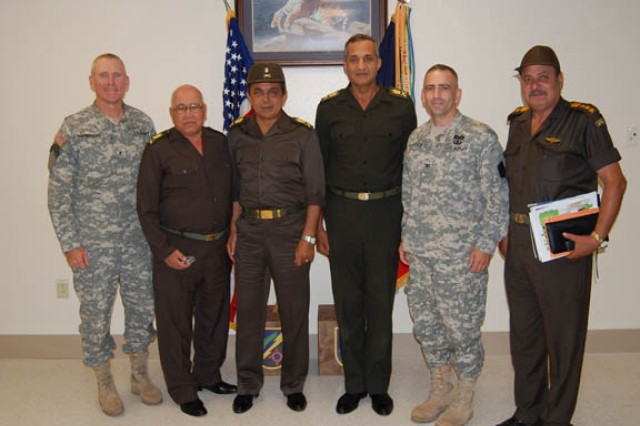 Tiger Brigade hosts Egyptian VIPs at JRTC