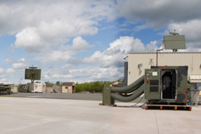 Tobyhanna can now test up to three Air Force AN/TPS-75 radar systems and one stand alone antenna simultaneously.  A new test pad has already allowed technicians to finish a system two months ahead of schedule.  The radar  is used for operations and control of tactical aircraft.