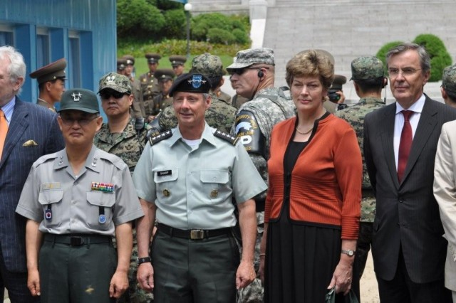 Korean War Armistice Anniversary commemorated at Panmunjom