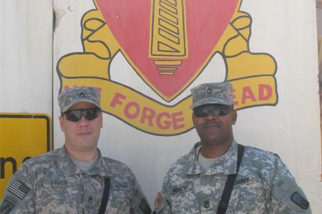 Logistics Soldiers train Iraqis in fuel, ammunition