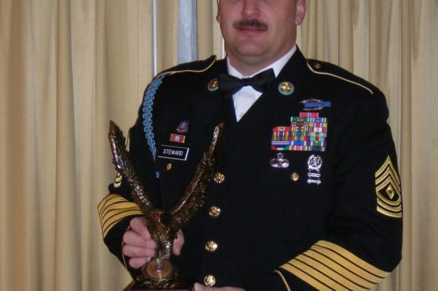 1st Sgt. Troy Steward