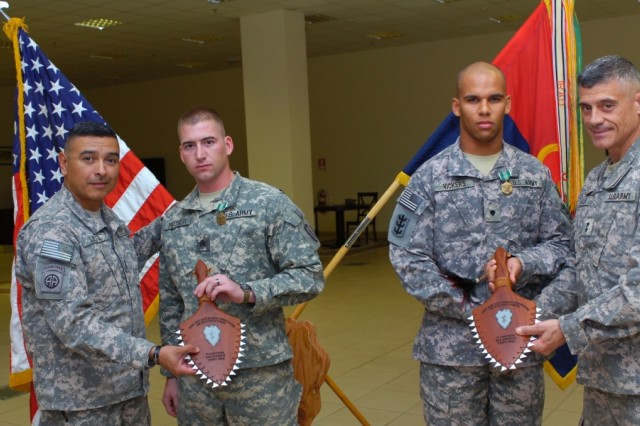 25th STB NCO and 65th Engineer Bn. Soldiers Win 'Top Warrior' Prize
