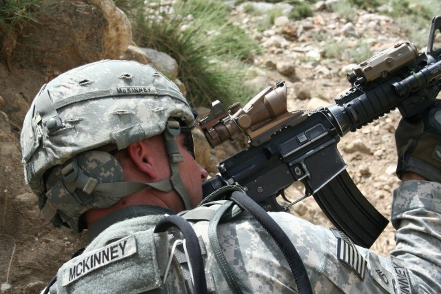 Lethal Warriors search mountains of Kunar