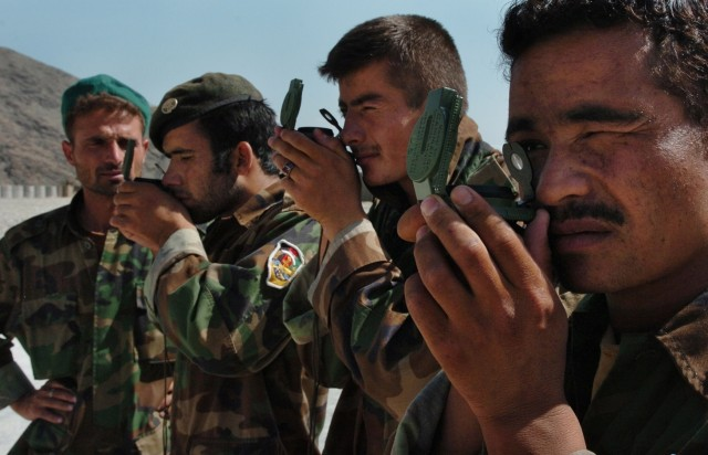 ANA forward observers, artillery, FDC hit the mark during joint training in Nuristan