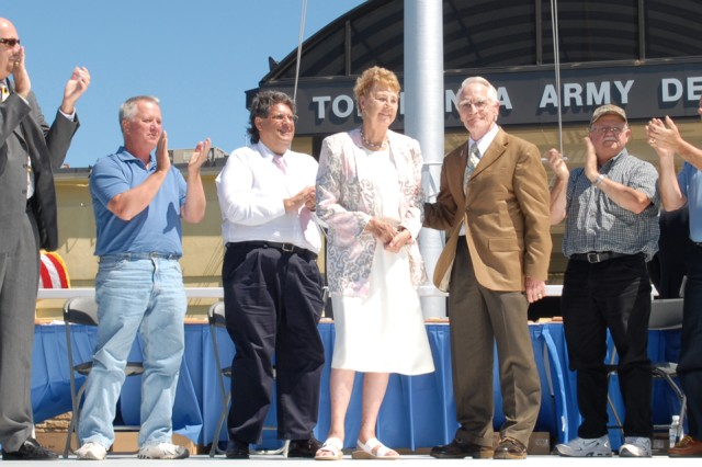 McClure marks 55 years of service, remembers challenges, camaraderie