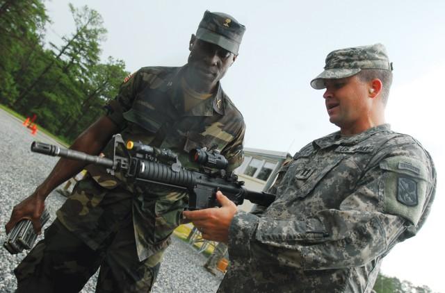 Liberian delegation visits Fort Benning