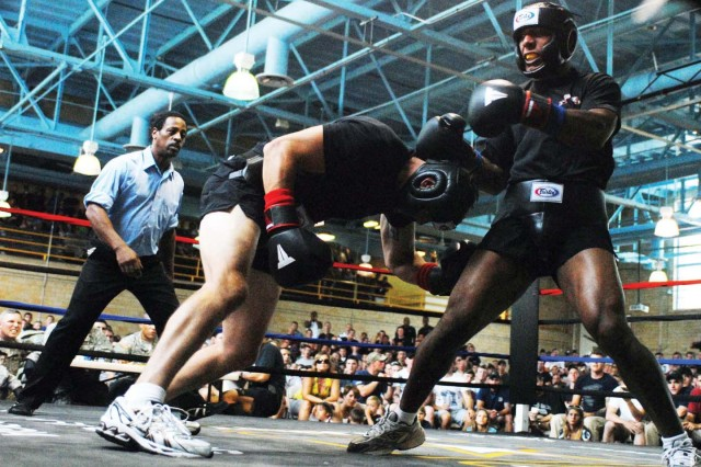 Rangers duke it out at boxing tournament