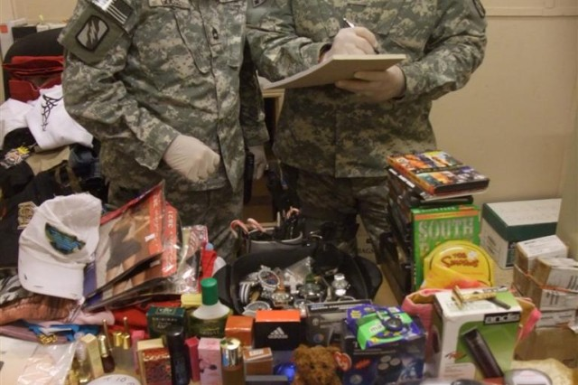 Mississippi Guardsmen recover stolen merchandise at Q-West