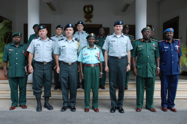 U.S. Army Africa commander visits Tanzania