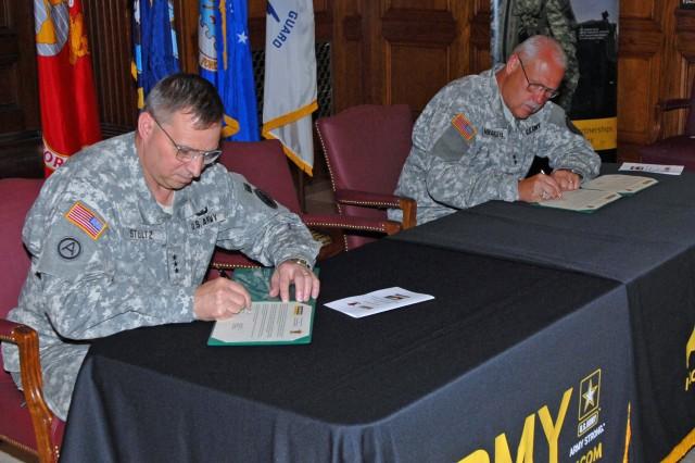 Reserve, Guard sign partnership
